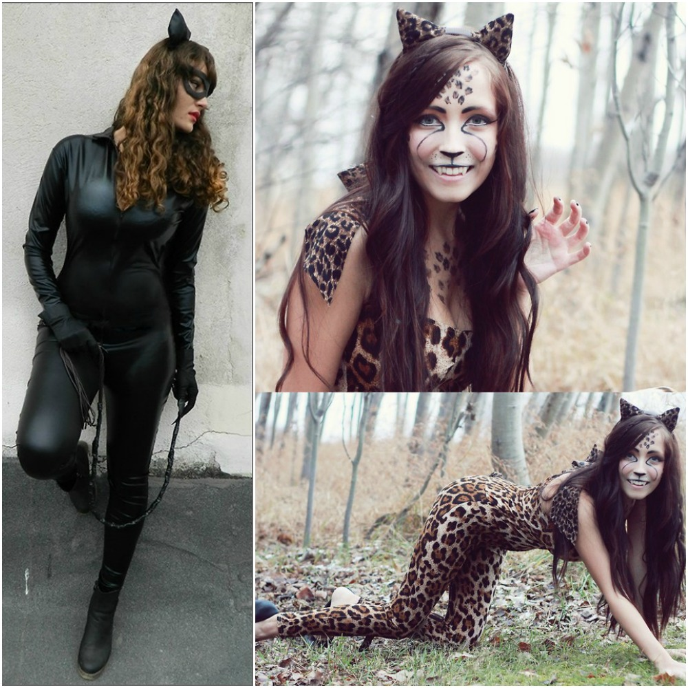 catwoman cat leopard cheetah fancy dress halloween outfit ideas 2014 costumes