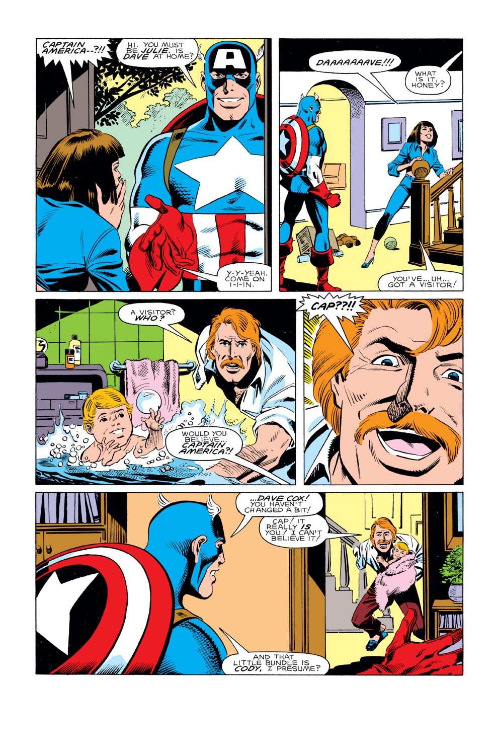 Captain America (1968) Issue #293 #221 - English 6