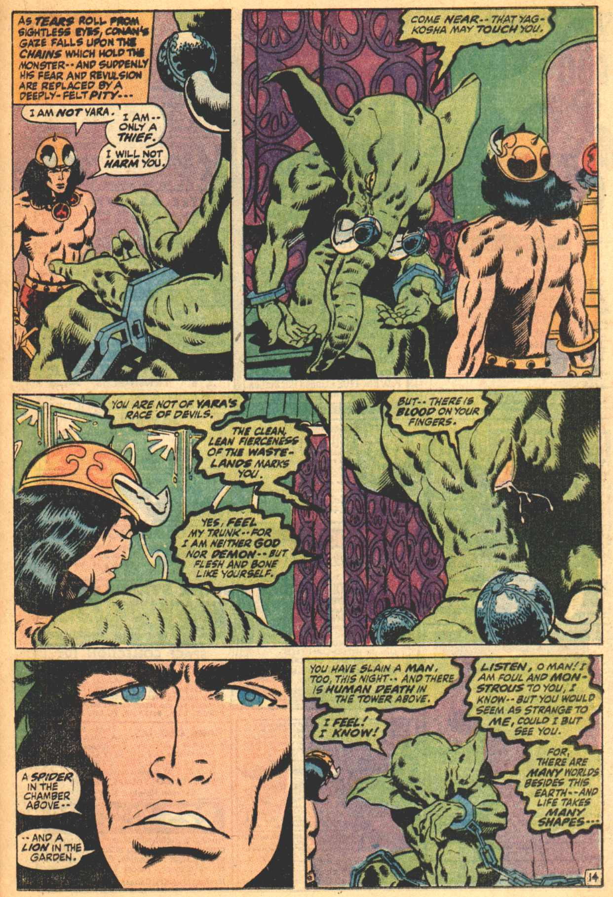 Conan the Barbarian (1970) Issue #4 #16 - English 15