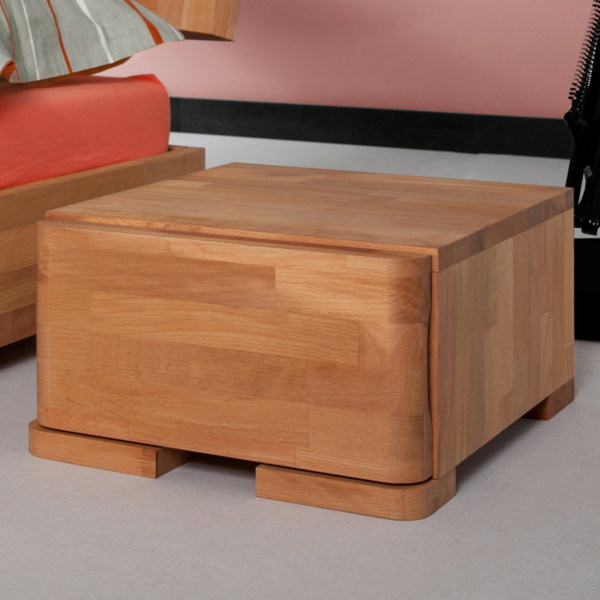 Contemporary bedside tables tips and designs Simple bedside table designs