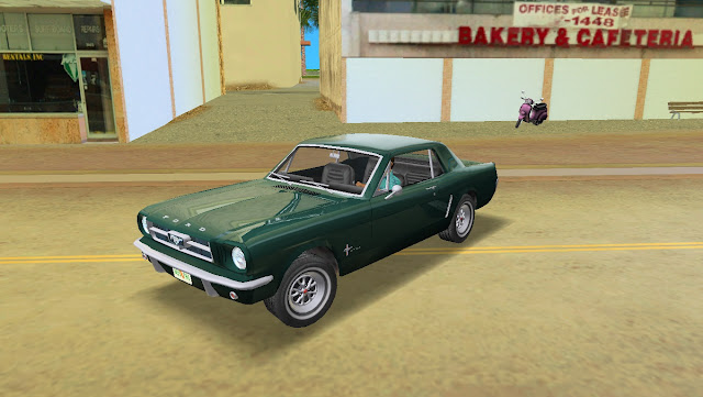 Ford Mustang Coupe 1965 GTA Vice City
