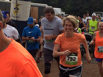 Zephyr Teachout Runs 5K at Delaware County Fair