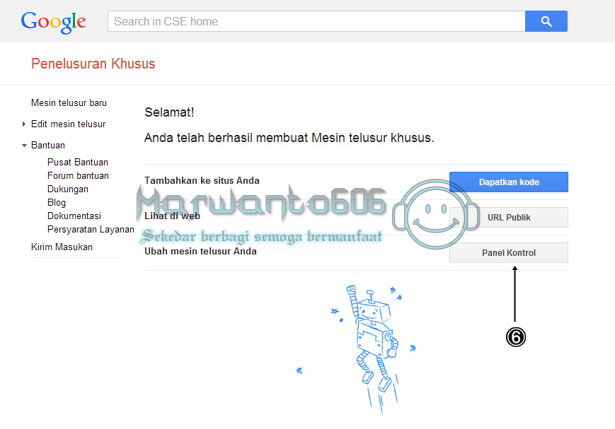 Cara Membuat dan Memasang Google Custom Search (CSE) di Blog