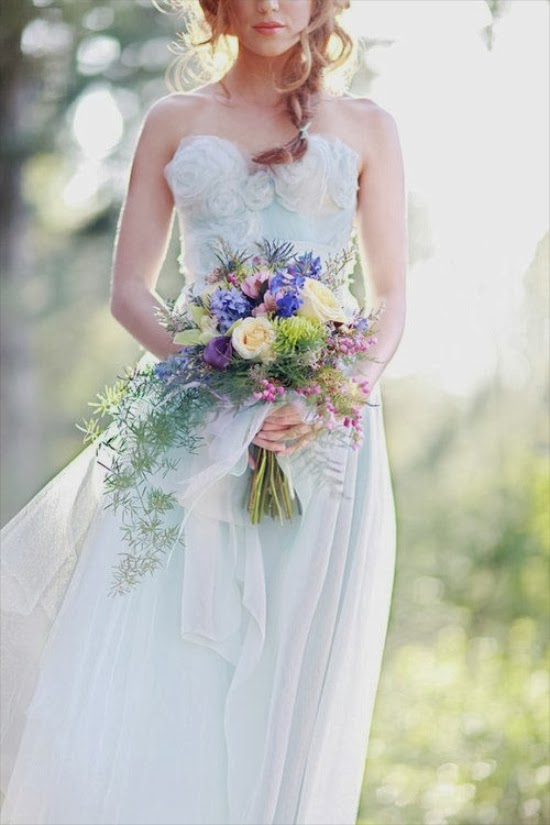 Wedding Dress Color Trends : Magic dress trends wedding color style