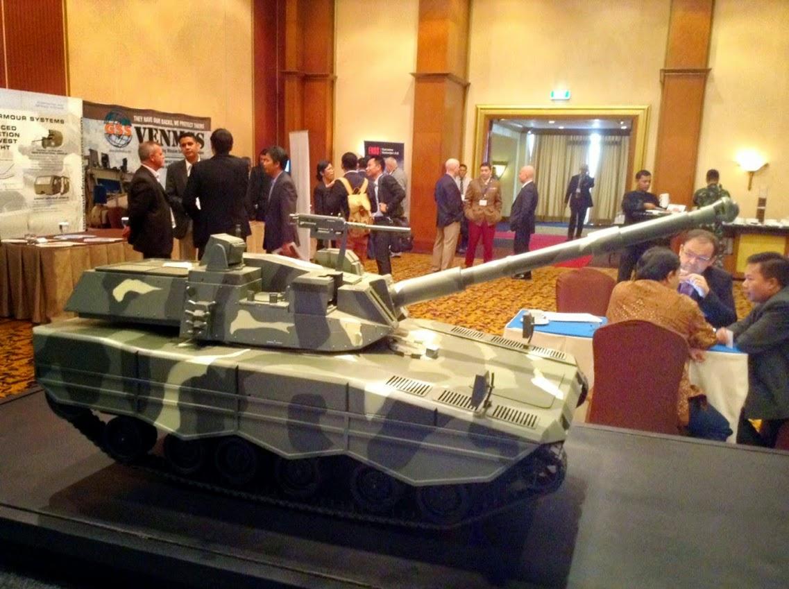Desain Medium Tank PT Pindad
