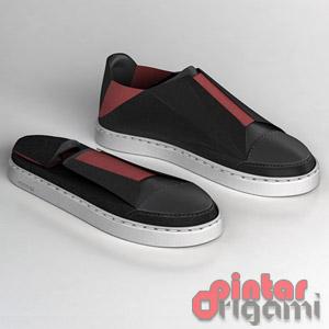 Sepatu Kets Lipat