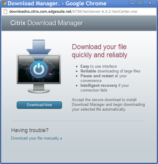 Download XenCenter
