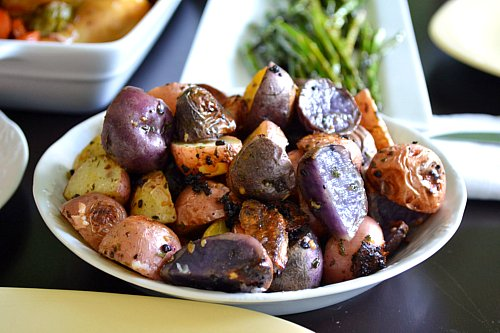Dan in the Kitchen — Roasted Parsley and Garlic Baby Potatoes