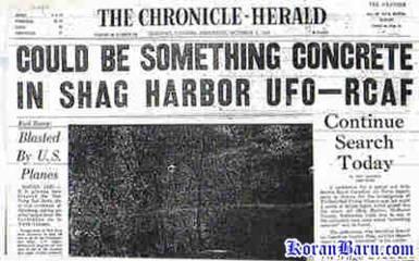 Berita tentang misteri USO - Unidentified Submarine Object