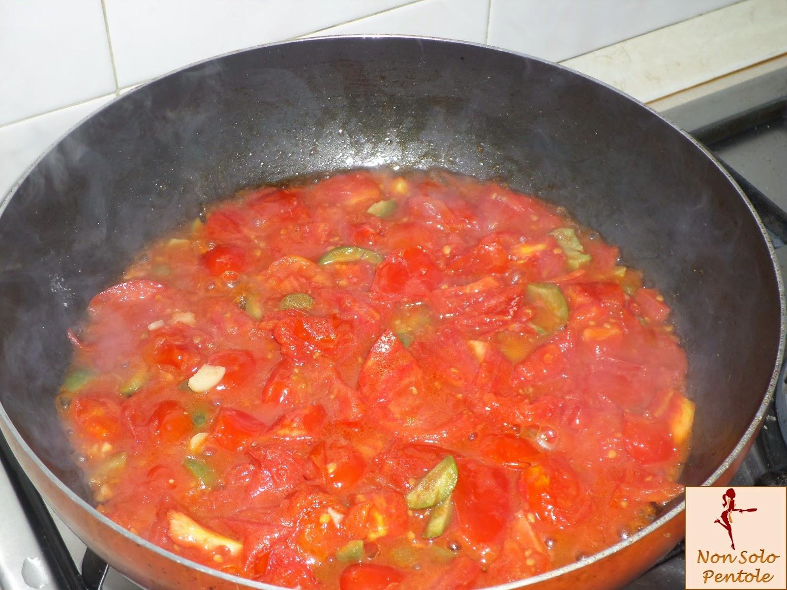 Scarole cotte al pomodoro