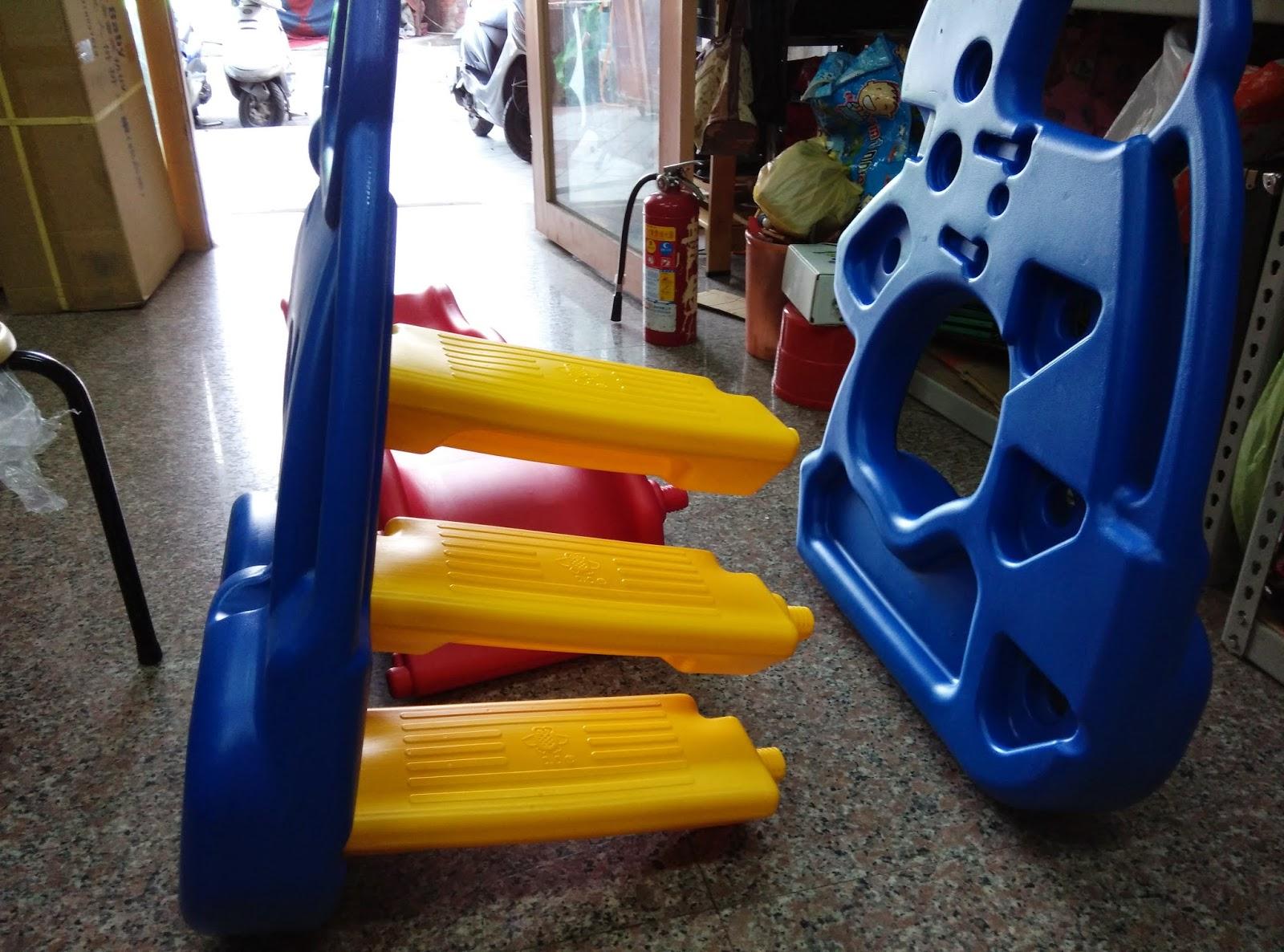 大象滑梯 一公一母 安裝超簡易1