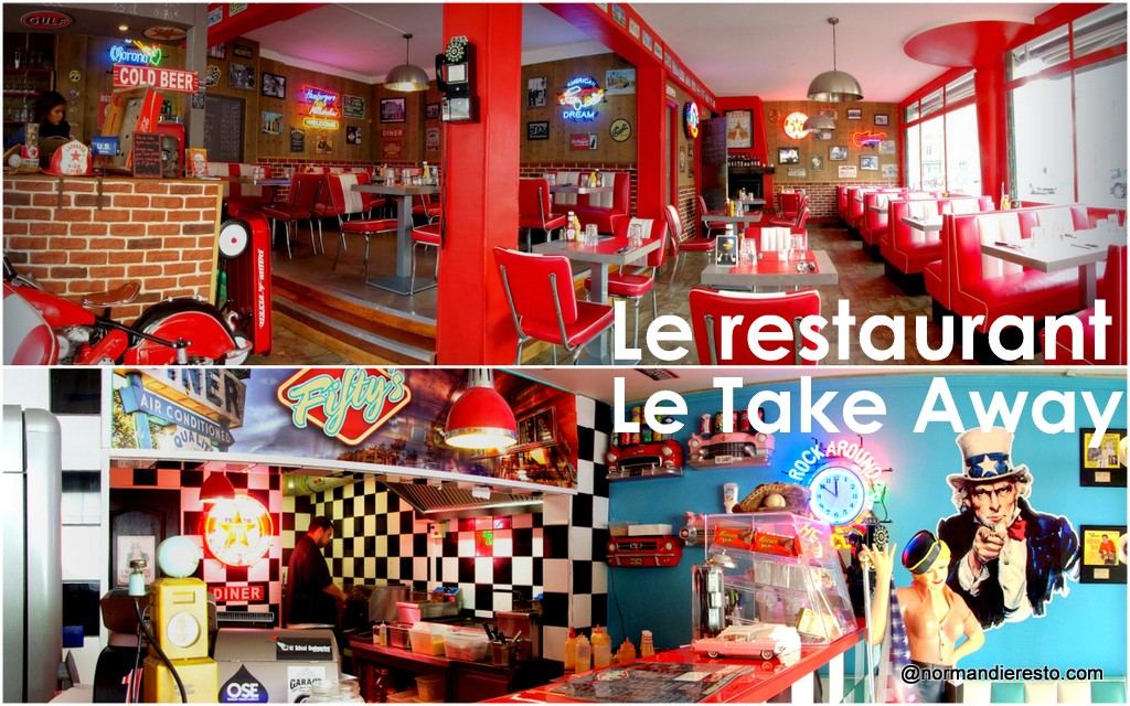 Le Fifty's American Diner au Havre