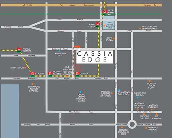 Cassia Edge Location Map
