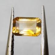 Batu Permata Yellow Citrine - SP961