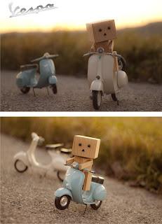 Gambar-Gambar Boneka Danbo Kreatif