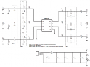 Fairchild Semiconductor Fms6363 Low Cost Video Filter Schematic ...
