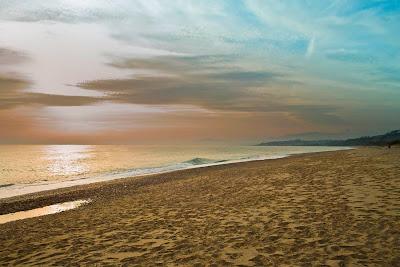Сицилия.  Пляж