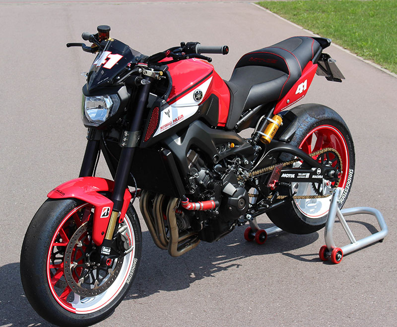 Motorcycle Modification Yamaha MT 09 By Klein