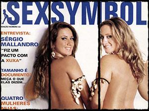 Revista SexSymbol nº2 :: Fabiana Pieroccini e Sara Oliveira