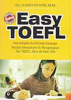 toko buku rahma: buku EASY TOEFL, pengarang slamet riyanto, penerbit pustaka pelajar