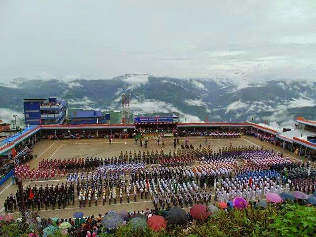 Independence day celebration at Monteviot Ground , Kurseong