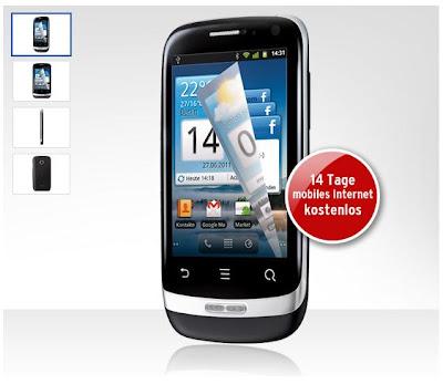 Huawei Ideos X3 bei Tchibo für 49,95 Euro (mit o2-Netlock)