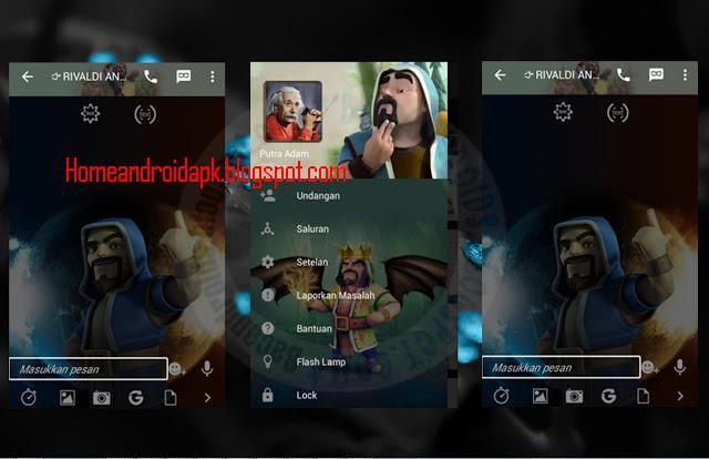 Download BBM Mod Thema Wizard Clash Of Clans V Download BBM Mod Thema Wizard Clash Of Clans V2.10.0.35 Latest