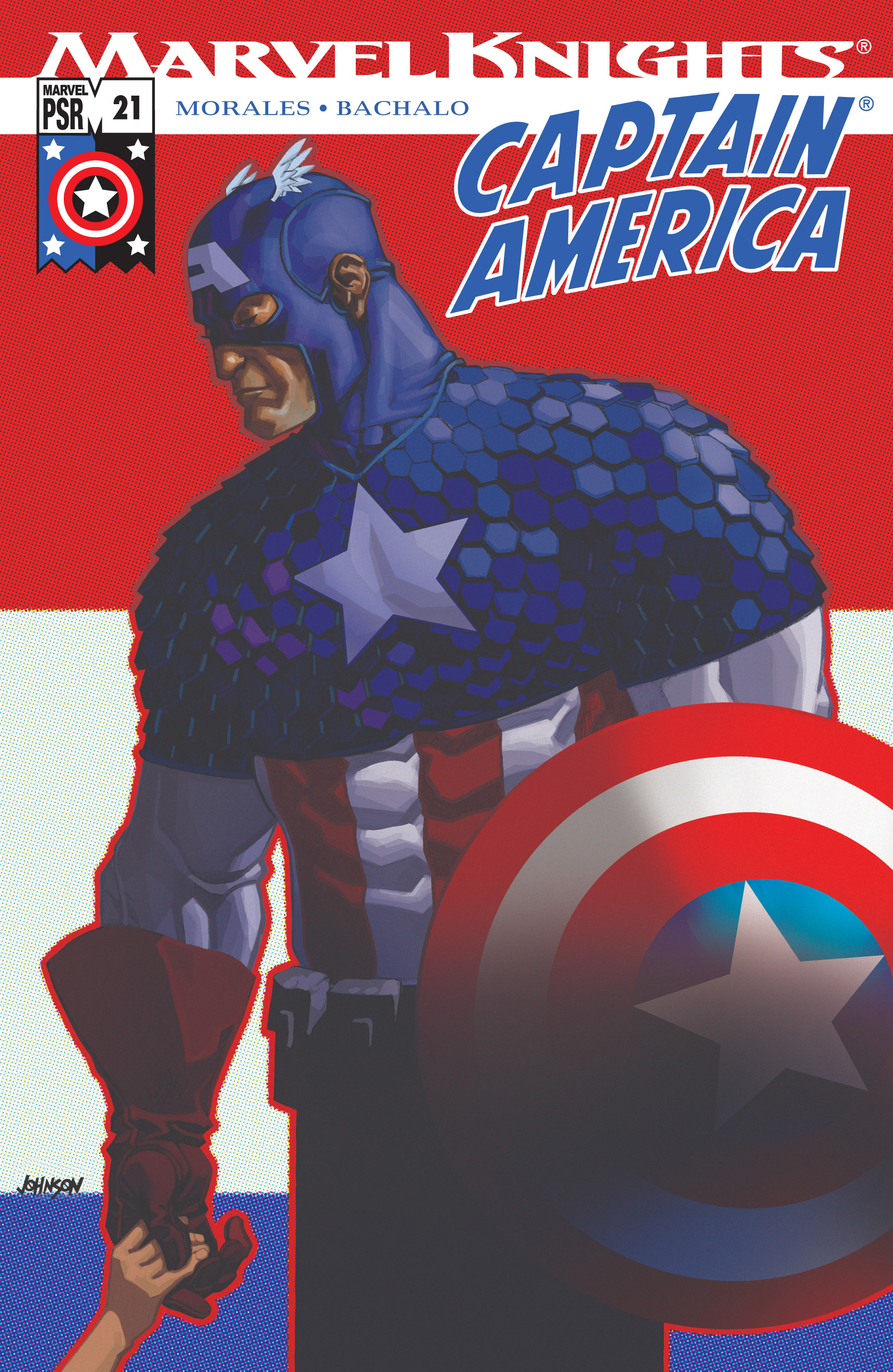 Captain America (2002) Issue #21 #22 - English 1