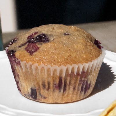 Hippo Flambé: Browned Butter Blueberry Muffins