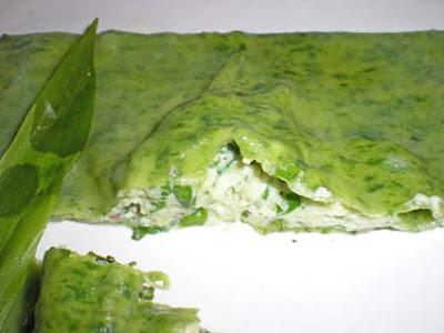 Cuisine sauvage raviolis tr s ail des ours for Ail sauvage cuisine