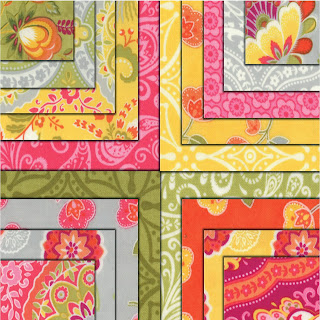 Moda HIGH STREET Quilt Fabric by Lily Ashbury