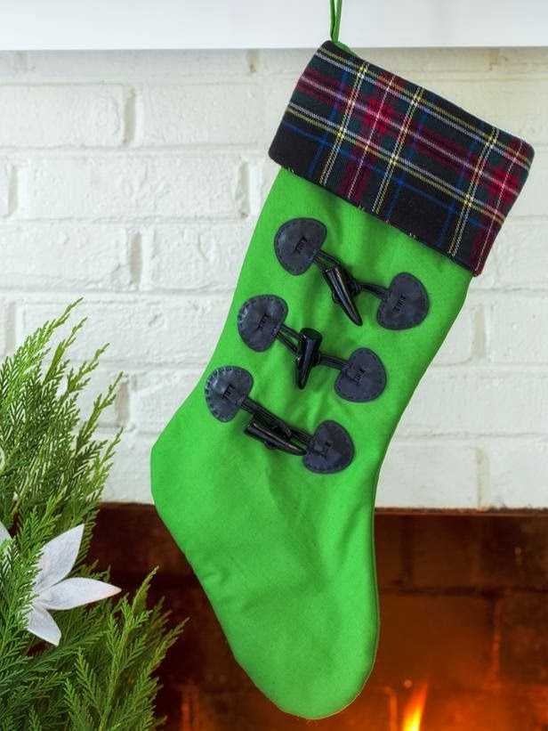 Diy Christmas 2013 Stockings Easy Ideas Decorating Idea