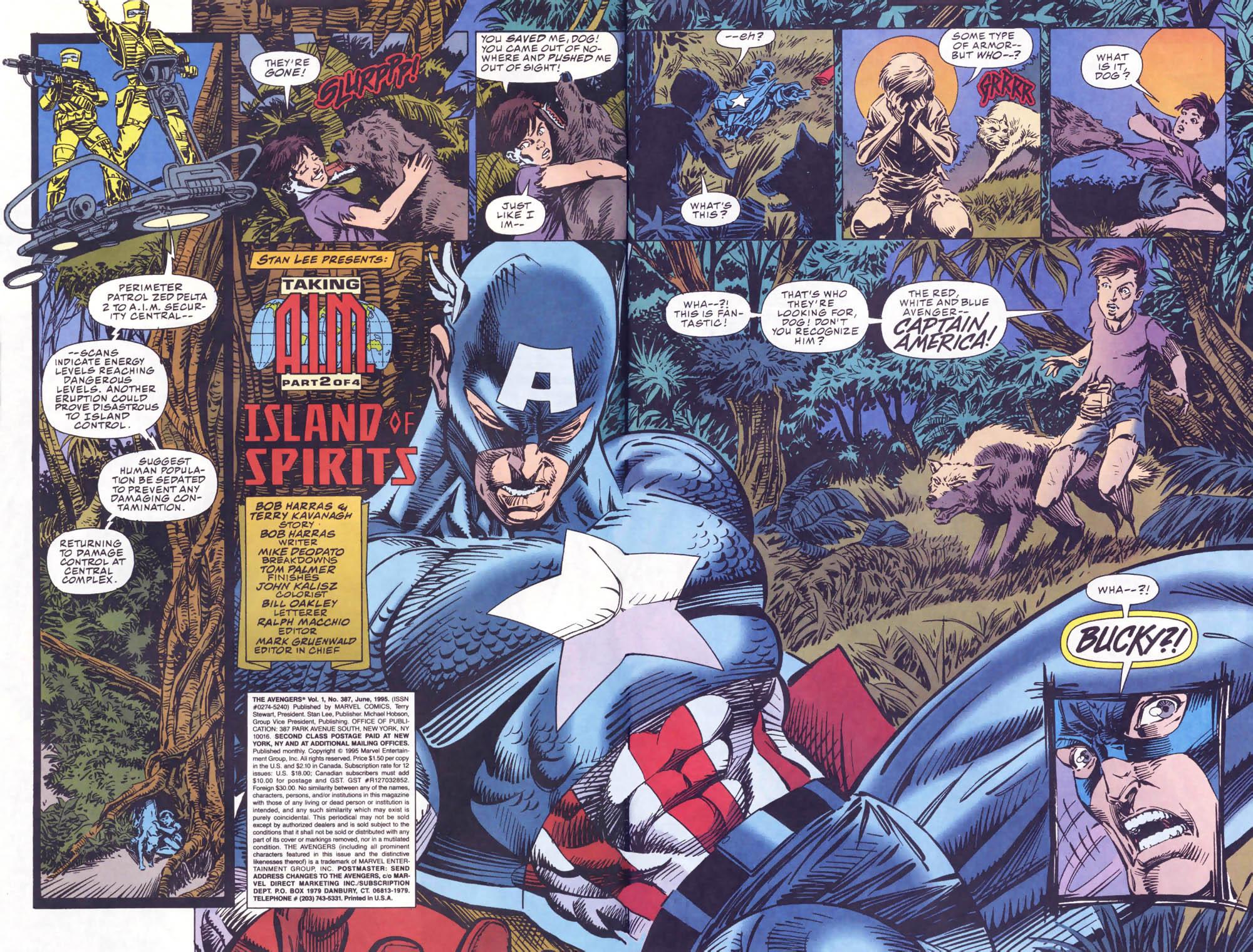 Captain America (1968) Issue #440b #393 - English 3