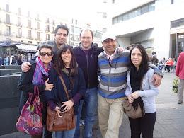 En Barcelona, Plaza Cataluna