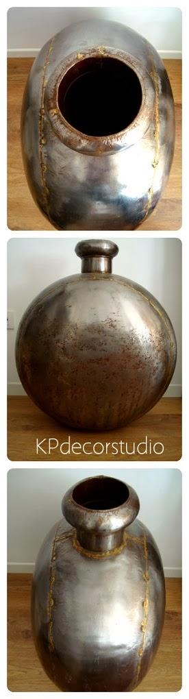 Comprar jarrón vintage online estilo industrial