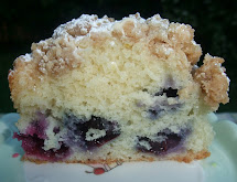 Rosie' Country Baking Blueberry Crumb Cake