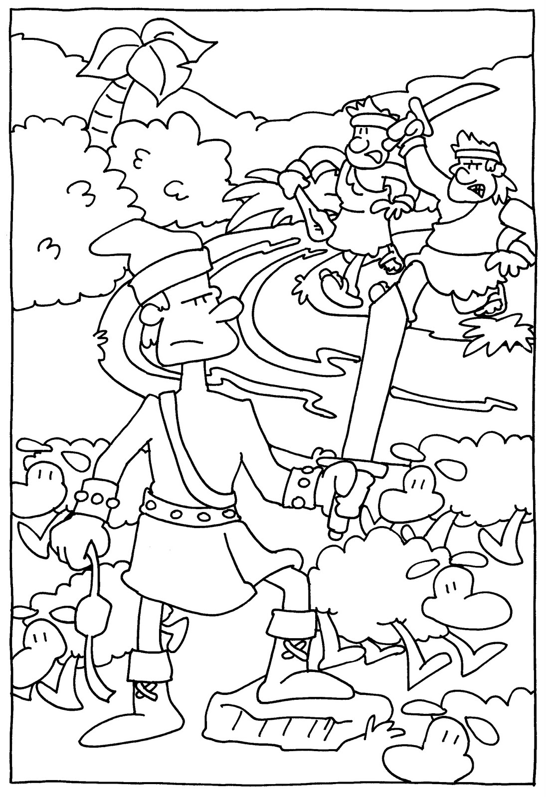 book of mormon coloring pages - photo#21