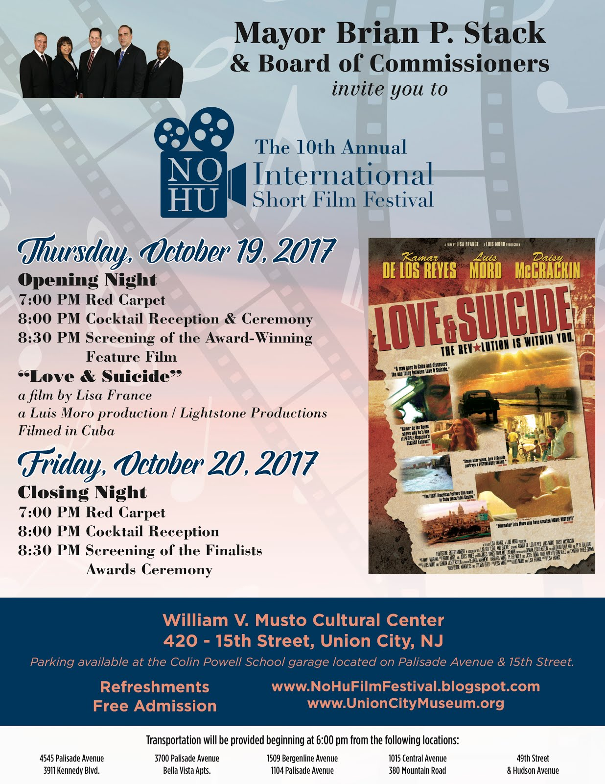 10th Annual NoHu International Short Film Festival