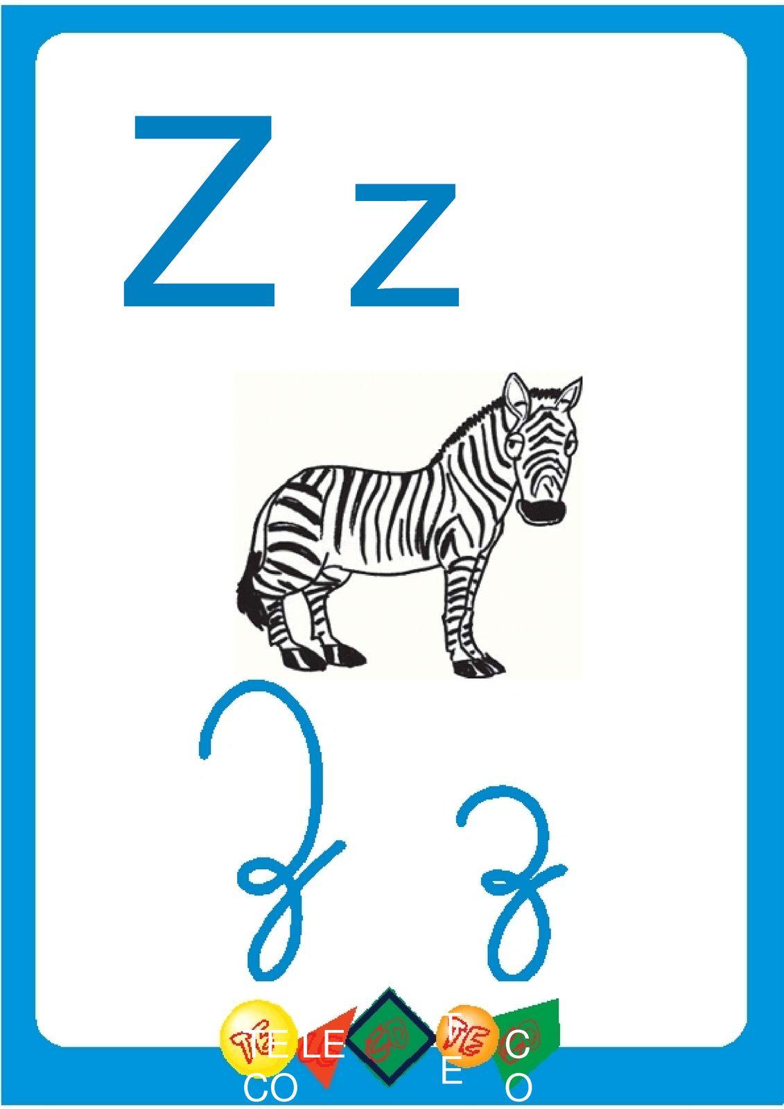 Alfabeto Ilustrado Colorido Cartazes De Parede