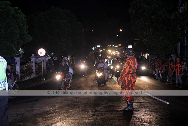 Gempita Malam Pergantian Tahun 2014 ke Tahun Baru 2015 di Baturranden - Banyumas, Jawa Tengah | Foto oleh KLIKMG Fotografer Purwokerto