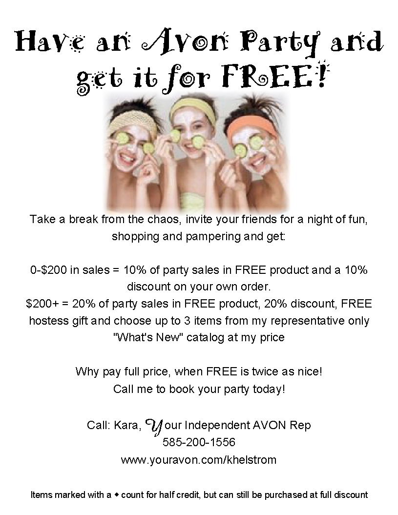 Avon Ladies in Motion: The Home Party