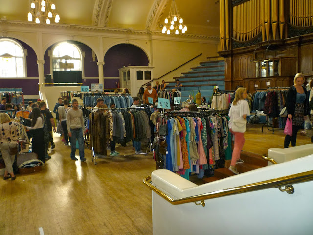lou lou's vintage fair at the albert hall via lovebirds vintage