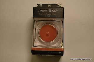 e.l.f cream blush in tease