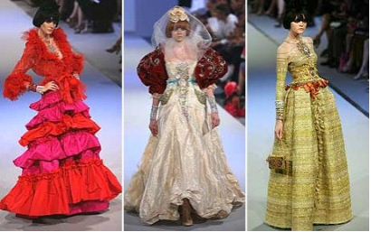 Fashion power the decline of the haute couture power for Haute couture houses
