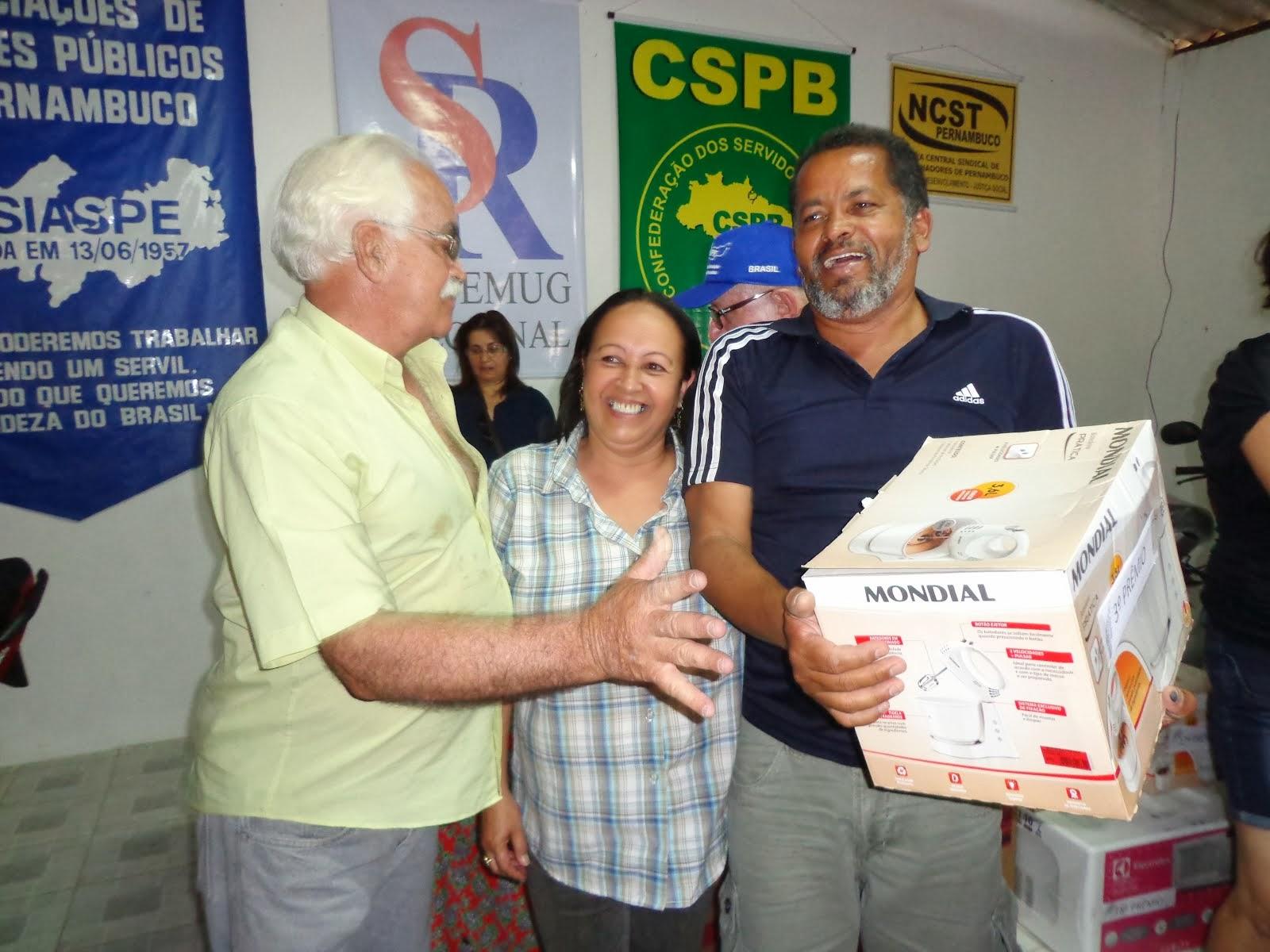 GANHADOR 3º PRÊMIO FESTA DO SERVIDO EM 2013