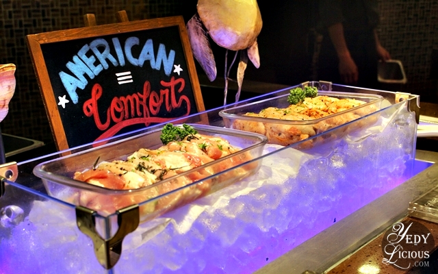 Grill Station American Choices at NIU by Vikings Buffet