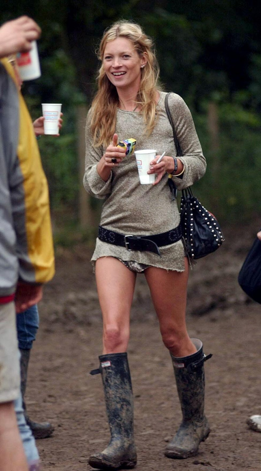 GOLDEN DREAMLAND Style Icon Kate Moss Wellies And