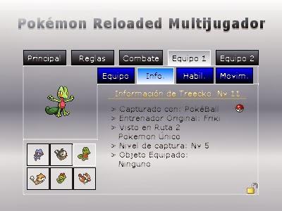 Pok mon edici n reloaded pok mon reloaded noviembre 2013 for Gimnasio 8 pokemon reloaded