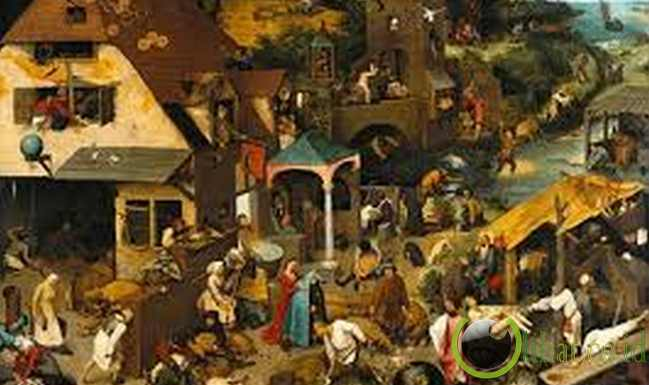 "112 Idiom dalam ""Netherlandish Proverbs"""