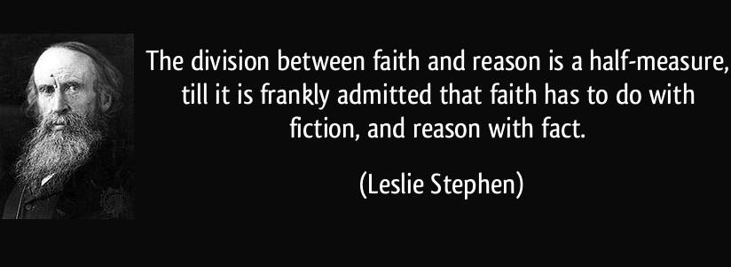 essay on faith and reason